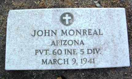 MONREAL, JOHN B. - Yavapai County, Arizona | JOHN B. MONREAL - Arizona Gravestone Photos