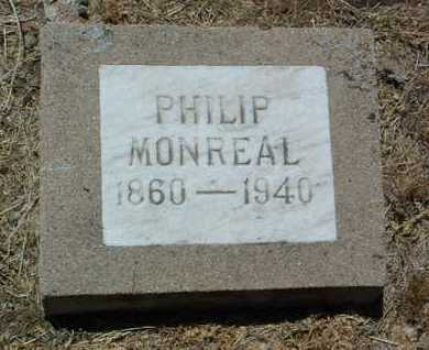 MONREAL, PHILIP - Yavapai County, Arizona | PHILIP MONREAL - Arizona Gravestone Photos