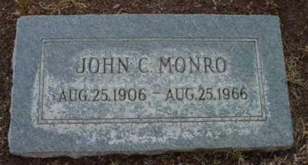 MONRO, JOHN C. - Yavapai County, Arizona | JOHN C. MONRO - Arizona Gravestone Photos