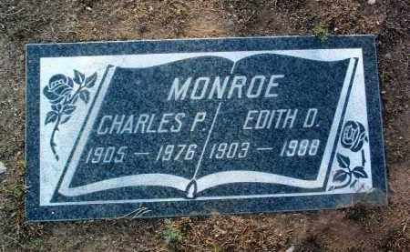 MONROE, EDITH D. - Yavapai County, Arizona | EDITH D. MONROE - Arizona Gravestone Photos