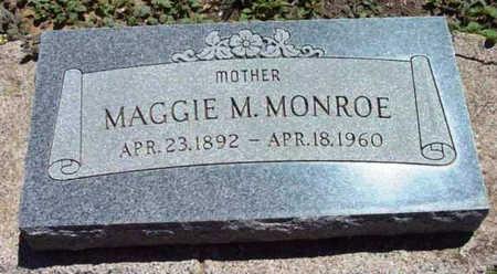 MONROE, MAGGIE MERLE - Yavapai County, Arizona | MAGGIE MERLE MONROE - Arizona Gravestone Photos