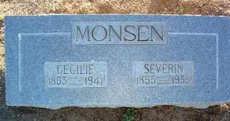 MONSEN, SEVERIN - Yavapai County, Arizona | SEVERIN MONSEN - Arizona Gravestone Photos