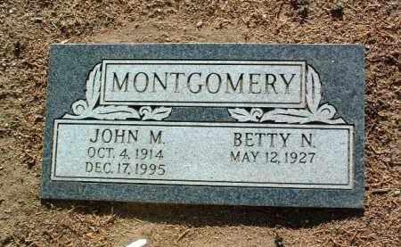 MONTGOMERY, BETTY NELL - Yavapai County, Arizona   BETTY NELL MONTGOMERY - Arizona Gravestone Photos