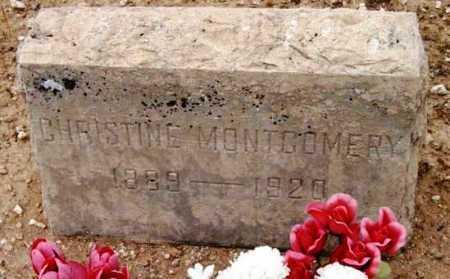 MONTGOMERY, ANNA C. - Yavapai County, Arizona | ANNA C. MONTGOMERY - Arizona Gravestone Photos