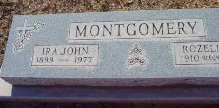 MONTGOMERY, IRA JOHN - Yavapai County, Arizona | IRA JOHN MONTGOMERY - Arizona Gravestone Photos