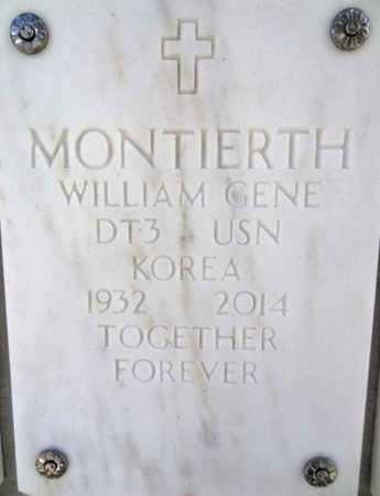 MONTIERTH, WILLIAM GEME - Yavapai County, Arizona | WILLIAM GEME MONTIERTH - Arizona Gravestone Photos