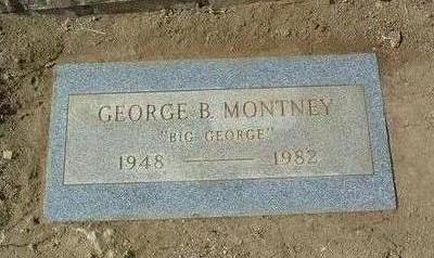 MONTNEY, GEORGE BRUCE - Yavapai County, Arizona   GEORGE BRUCE MONTNEY - Arizona Gravestone Photos