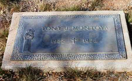 MONTOYA, ANTONIO J.  (TONY) - Yavapai County, Arizona | ANTONIO J.  (TONY) MONTOYA - Arizona Gravestone Photos