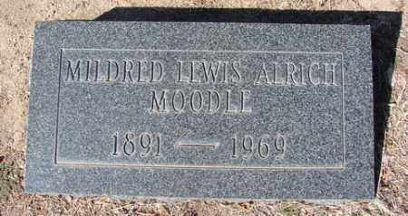 LEWIS MOODLE, MILDRED - Yavapai County, Arizona | MILDRED LEWIS MOODLE - Arizona Gravestone Photos