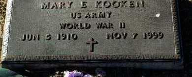 KOOKEN, MARY E. - Yavapai County, Arizona | MARY E. KOOKEN - Arizona Gravestone Photos