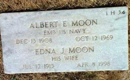 MOON, EDNA JULIA - Yavapai County, Arizona   EDNA JULIA MOON - Arizona Gravestone Photos