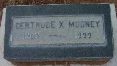 MOONEY, GERTRUDE X. - Yavapai County, Arizona   GERTRUDE X. MOONEY - Arizona Gravestone Photos