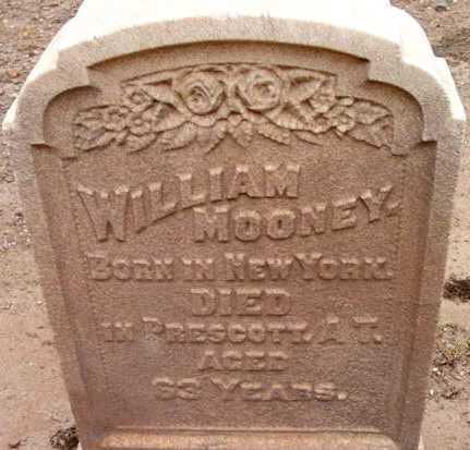 MOONEY, WILLIAM - Yavapai County, Arizona | WILLIAM MOONEY - Arizona Gravestone Photos