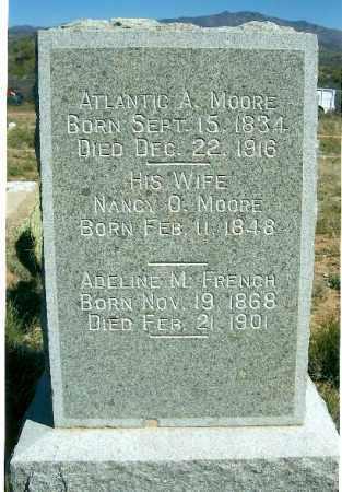 WATERMAN MOORE, NANCY O. - Yavapai County, Arizona | NANCY O. WATERMAN MOORE - Arizona Gravestone Photos