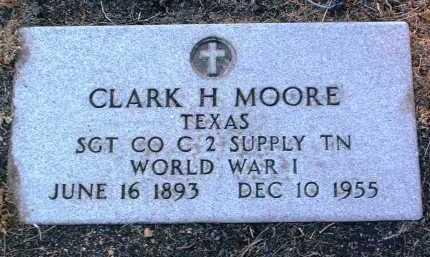 MOORE, CLARK H. - Yavapai County, Arizona | CLARK H. MOORE - Arizona Gravestone Photos