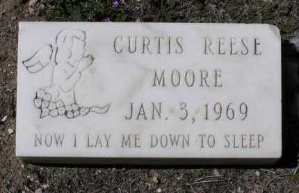 MOORE, CURTIS REESE - Yavapai County, Arizona   CURTIS REESE MOORE - Arizona Gravestone Photos