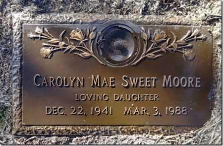 MOORE, CAROLYN MAE - Yavapai County, Arizona   CAROLYN MAE MOORE - Arizona Gravestone Photos
