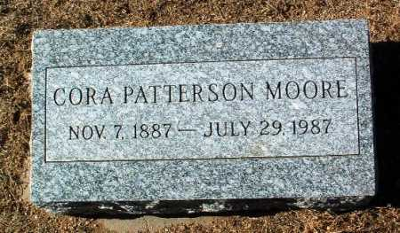 MOORE, CORA PATTERSON - Yavapai County, Arizona | CORA PATTERSON MOORE - Arizona Gravestone Photos
