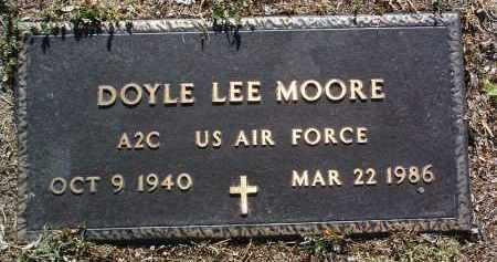 MOORE, DOYLE LEE - Yavapai County, Arizona   DOYLE LEE MOORE - Arizona Gravestone Photos