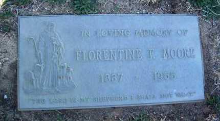 MOORE, FLORENTINE F. - Yavapai County, Arizona | FLORENTINE F. MOORE - Arizona Gravestone Photos