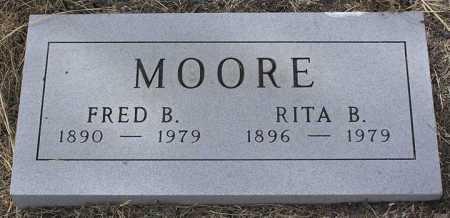 BARRETT MOORE, RITA M. - Yavapai County, Arizona | RITA M. BARRETT MOORE - Arizona Gravestone Photos