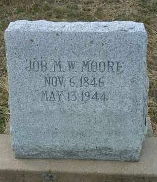 MOORE, JOB MATHIS W. - Yavapai County, Arizona | JOB MATHIS W. MOORE - Arizona Gravestone Photos