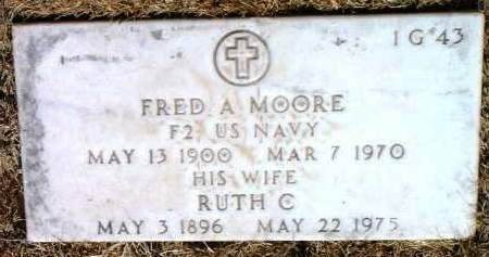MOORE, RUTH C. - Yavapai County, Arizona | RUTH C. MOORE - Arizona Gravestone Photos