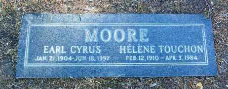 TOUCHON MOORE, HELENE - Yavapai County, Arizona | HELENE TOUCHON MOORE - Arizona Gravestone Photos
