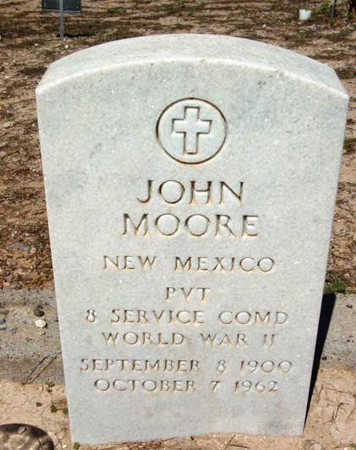 MOORE, JOHN - Yavapai County, Arizona | JOHN MOORE - Arizona Gravestone Photos