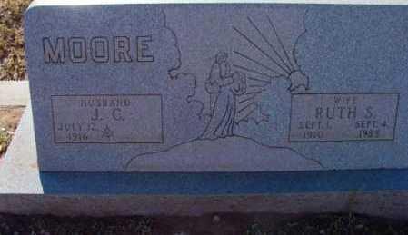 MOORE, RUTH S. - Yavapai County, Arizona | RUTH S. MOORE - Arizona Gravestone Photos