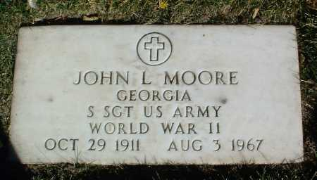 MOORE, JOHN L. - Yavapai County, Arizona   JOHN L. MOORE - Arizona Gravestone Photos