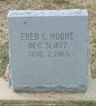 MOORE, FRED CARLISLE - Yavapai County, Arizona | FRED CARLISLE MOORE - Arizona Gravestone Photos