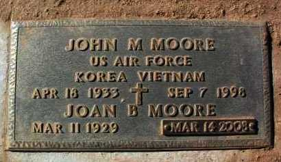 MOORE, JOHN M. - Yavapai County, Arizona | JOHN M. MOORE - Arizona Gravestone Photos