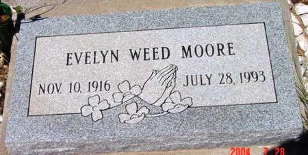 MOORE, MUEL EVELYN - Yavapai County, Arizona   MUEL EVELYN MOORE - Arizona Gravestone Photos