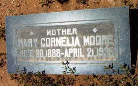 MOORE, MARY CORNELIA - Yavapai County, Arizona   MARY CORNELIA MOORE - Arizona Gravestone Photos