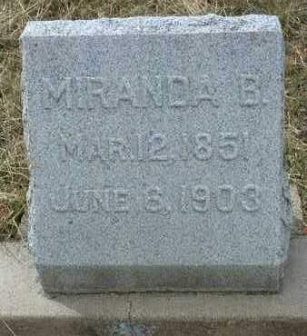 BANTA MOORE, MIRANDA - Yavapai County, Arizona   MIRANDA BANTA MOORE - Arizona Gravestone Photos