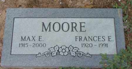 MOORE, FRANCES EVELYN - Yavapai County, Arizona | FRANCES EVELYN MOORE - Arizona Gravestone Photos