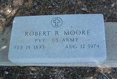 MOORE, ROBERT R. - Yavapai County, Arizona | ROBERT R. MOORE - Arizona Gravestone Photos