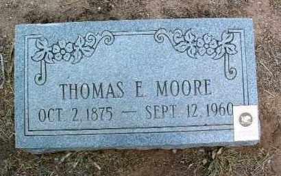 MOORE, THOMAS EDWARD - Yavapai County, Arizona | THOMAS EDWARD MOORE - Arizona Gravestone Photos