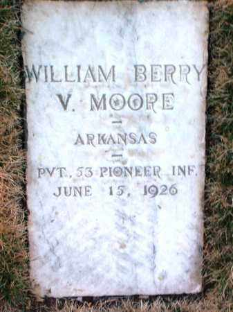MOORE, WILLIAM BERRY V. - Yavapai County, Arizona | WILLIAM BERRY V. MOORE - Arizona Gravestone Photos