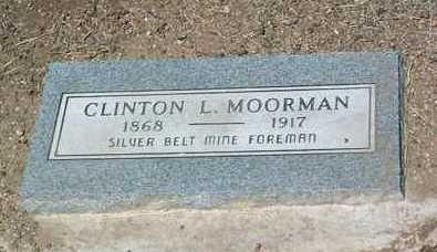 MOORMAN, CLINTON LEROY - Yavapai County, Arizona | CLINTON LEROY MOORMAN - Arizona Gravestone Photos