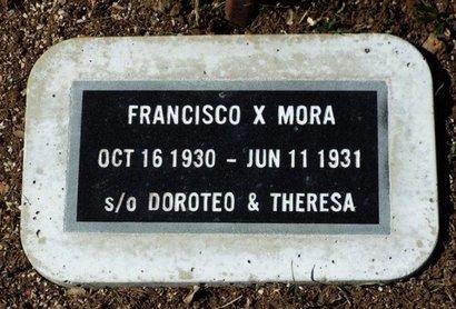 MORA, FRANCISCO X. - Yavapai County, Arizona | FRANCISCO X. MORA - Arizona Gravestone Photos