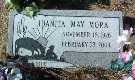 MORA, JUANITA MAY - Yavapai County, Arizona   JUANITA MAY MORA - Arizona Gravestone Photos