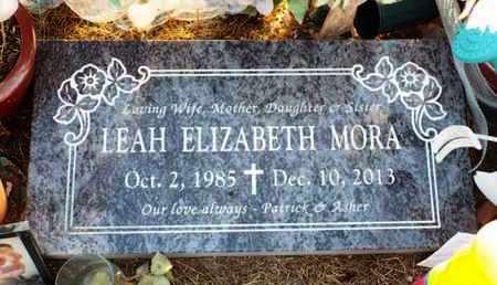 MORA, LEAH ELIZABETH - Yavapai County, Arizona | LEAH ELIZABETH MORA - Arizona Gravestone Photos