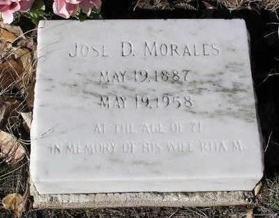 MORALES, JOSE D. - Yavapai County, Arizona   JOSE D. MORALES - Arizona Gravestone Photos