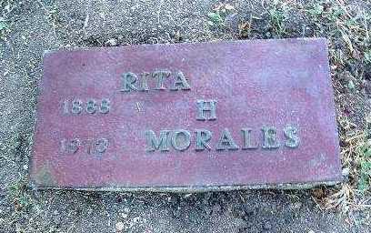 MORALES, RITA H. - Yavapai County, Arizona | RITA H. MORALES - Arizona Gravestone Photos