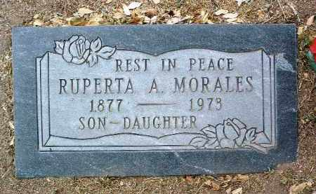 MORALES, RUPERTA A. - Yavapai County, Arizona   RUPERTA A. MORALES - Arizona Gravestone Photos
