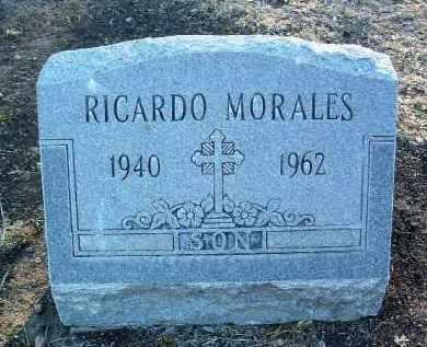 MORALES, RICHARD HENRY - Yavapai County, Arizona   RICHARD HENRY MORALES - Arizona Gravestone Photos