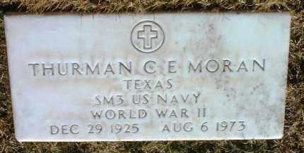 MORAN, THURMAN C. E. - Yavapai County, Arizona | THURMAN C. E. MORAN - Arizona Gravestone Photos
