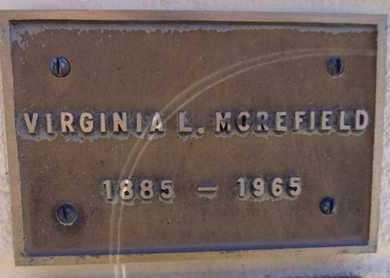 MOREFIELD, VIRGINIA L. - Yavapai County, Arizona   VIRGINIA L. MOREFIELD - Arizona Gravestone Photos